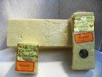 Sharp Raw Milk Cheddar